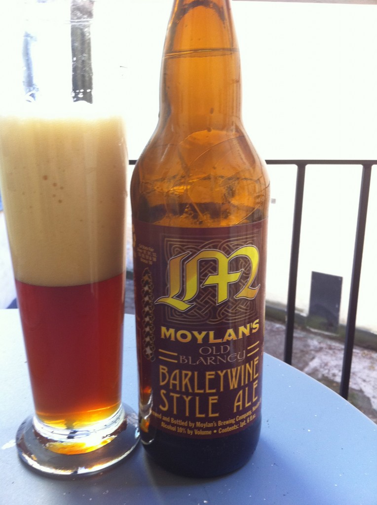 Moylans Old Blarney Barley Wine Style Ale