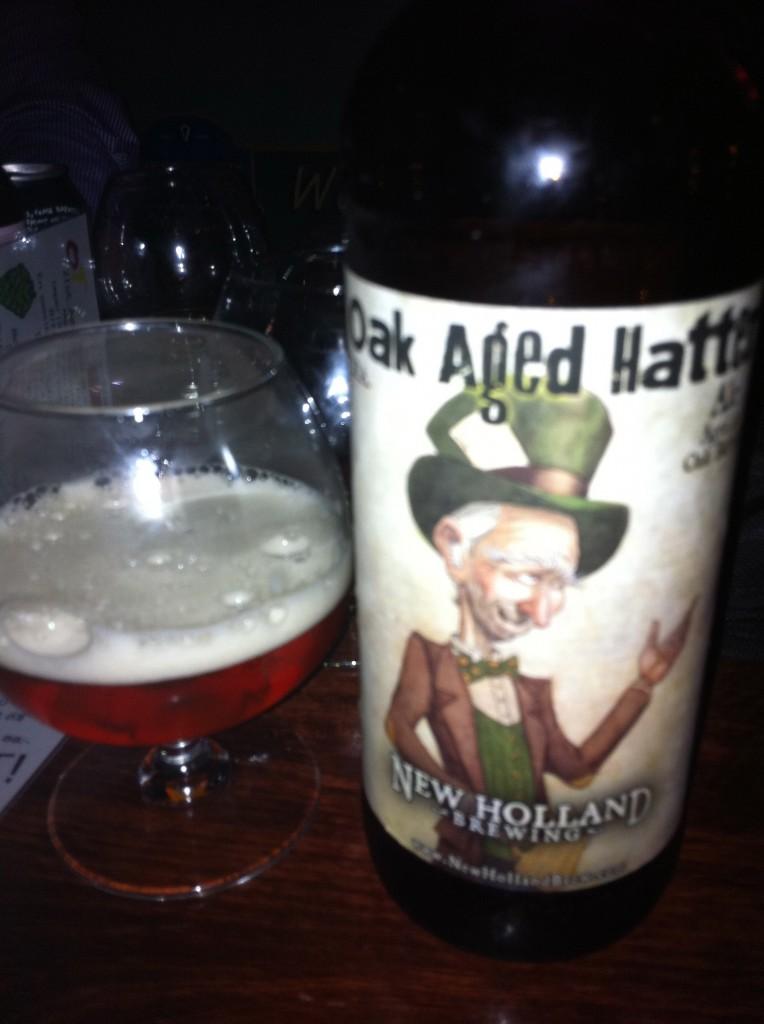 New Hollan Oak Aged Hatter