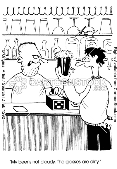 food-drink-hygiene-glass-publican-accusation-beer-abr1292l