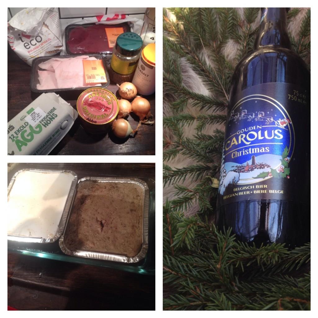 MankerBeer and Food: Julölsköttbullar samt recension av Gouden Carolus Christmas