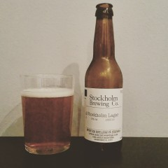 STHLM Brewing Stockholm Lager