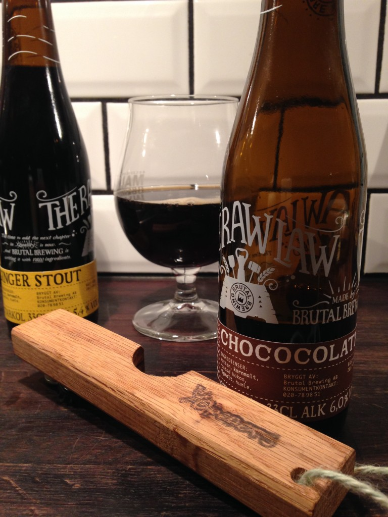 Ölrecensioner: Brutal brewing, var har dom hamnat och hur smakar nya Chococolate lager samt Ginger Stout