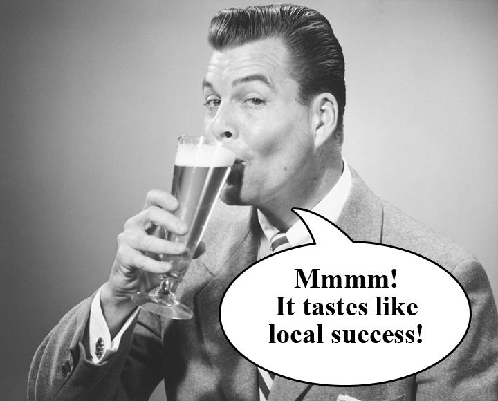 DrinkingLocalBeer